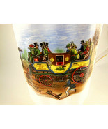 Royal Windsor Bone China Coffee Tea Cup Steam Coach By Gurney - $8.70