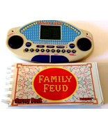 Family Feud Handheld Electronic Game 1997 Tiger Electronics with Questio... - $17.19