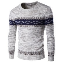 Sweater Male 2018 Men'S Cultivate One'S Morality O-Neck  Leisure Men'S C... - $26.20+