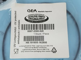 LOT OF 3 NEW GEA 0007-2300-520 O-RINGS H8-191605-162800 image 2