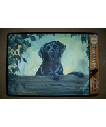 DOGGY DOOR MATS Decorative Dog Breed Specific Labrador Welcome Mat Black... - $19.20
