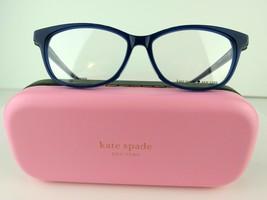 Kate Spade CARLISHA/F (PJP) Blue 52-14-145 Eyeglass Frames - $66.45
