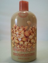BATH & BODY WORKS 16oz CRAZY CARAMEL Corn Shampoo Body Wash Bubble Bath NeW - $62.55