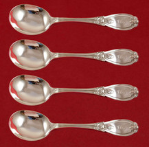 "Grecian by Whiting-Hebbard Sterling Silver Gumbo Spoon 4-piece Set 7 7/8"" - $987.05"
