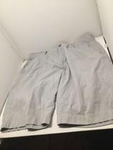 J.CREW Club Shorts~Blue & White Pinstripe~Men's 33W~Lightweight~100% Cotton - $6.98