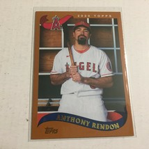 2020 Topps Los Angeles Angles Anthony Rendon Orange MLB Trading Card - $2.99