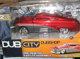 JADA DUB CITY DUB SHOP 51 MERCURY CAR-1/24 SCALE-FREE SHIPPING - $37.00