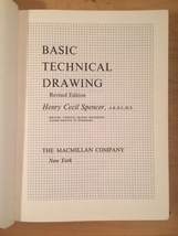 1962: Basic Technical Drawing textbook. By Henry Cecil Spencer image 2