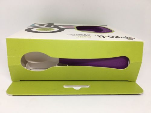 ZoLi MASH Bowl & Spoon Kit, Purple - A-BF14MSR001 Kids baby bowl containers image 7