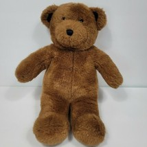 Build a Bear Vintage Dark Brown Teddy Bear Classic Stuffed Animal Plush ... - $19.79