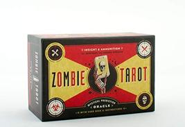 The Zombie Tarot: An Oracle of the Undead with Deck and Instructions (QU... - $16.99