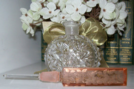 """Vintage Czech Perfume Bottle-Dauber Intact-Signed-5.75-""""Tall~Highly Coll... - $249.99"""