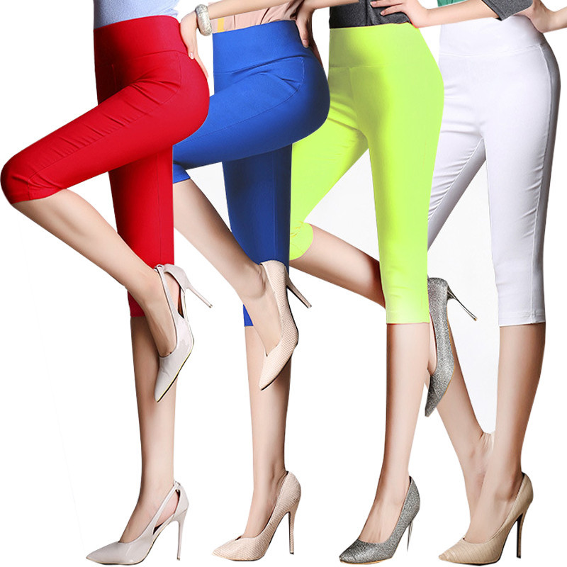 Primary image for Women Pants Leggings, 6XL cotton 3/4