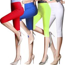 Women Pants Leggings, 6XL cotton 3/4 - $28.99