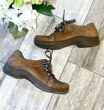 Dansko Brown Leather Shoes Sneakers 38 8 Women - $32.98