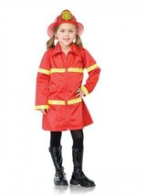 ENCHANTED COSTUMES FIRE GIRL HALLOWEEN COSTUME CHILD SIZE SMALL 6-8 - $21.15