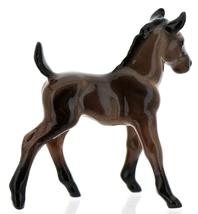 Hagen-Renaker Miniature Ceramic Horse Figurine Wild Mustang Colt Bay image 2