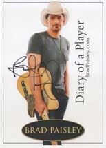 4 x 6 Autographed Photo of Brad Paisley (REPRINT) - $6.99