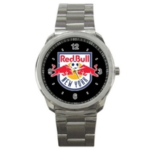 Sport Metal Unisex Watch Highest Quality American Football New York Red Bull - $23.99