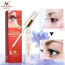 Natural Herbal Eyelash Growth Treatments Liquid Serum Eyebrow Enhancer E... - $10.40