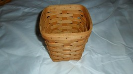Longaberger Basket - 5.5x5.5x6.5 - 1997 - $6.92