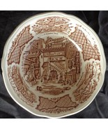 Vintage Alfred Meakin Coupe Cereal Bowl - Fair Winds - Brown - OLD CHINA... - $19.79