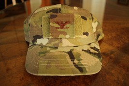 Usaf Us Air Force Multicam Ocp I/A O-6 Camouflage Combat Ballcap Ball Cap Hat - $29.69