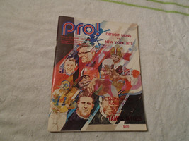 1971 nfl Pro Football Hall of Fame Edition Program Detroit Lions New Yor... - $19.99