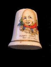 Vintage Humpty Dumpty Thimble - English  - $4.95