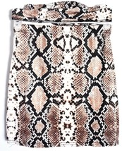 Nasty Gal 2-Piece Snake Skin Print Tube Top & Mini Skirt Size 4