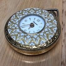 Vintage Lucerne Swiss Art Deco Hand-Winding Necklace Pendant Pocket Watc... - $18.99