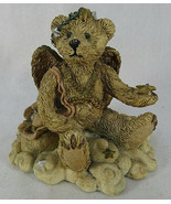BOYDS BEARS And FRIENDS Resin Figure Light Fades Stars Appear ANGEL 2029-10 - $20.00