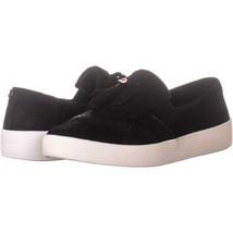 Cole Haan Grandpro Espectador Kiltie Slip On Sneakers 602 , Negro Nubuck... - $70.78