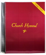 Church Hymnal LARGE PRINT Brand NEW Spiral Bound 410 Hymns Shape Note Fo... - $26.97