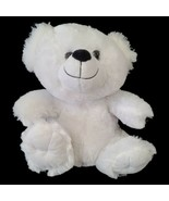 "Dan Dee White Plush Teddy Bear Stuffed Animal Toy 12"" - $14.85"