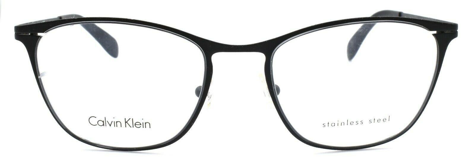 Calvin Klein CK5411 001 Unisex Eyeglasses Frames 51-19-140 Black ITALY