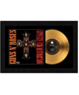 """""""Appetite For Destruction"""" by Guns N' Roses 17x26 Framed 24kt GoldAlbum ... - $198.95"""