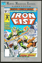 Iron Fist #14 Marvel Milestone Edition Byrne/Claremont Sabretooth 1992 ('77) VF- - $11.00