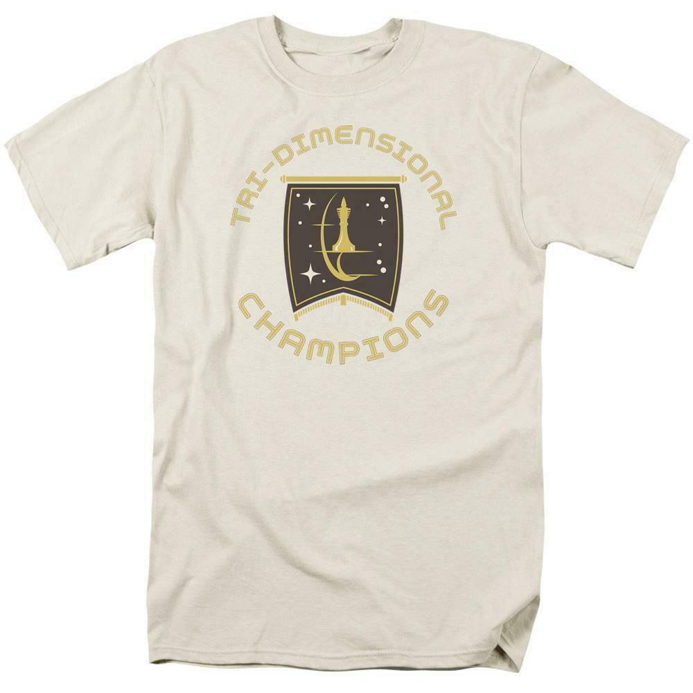 Star Trek T-shirt Tri-Dimensional Champion Episode Court Martial Graphic CBS851