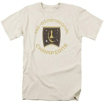 Star Trek T-shirt Tri-Dimensional Champion Episode Court Martial Graphic CBS851 image 1