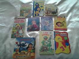 Lot of 10 kid's board books Corduroy, Dora the explorer, Disney, the Muppets  - $8.32
