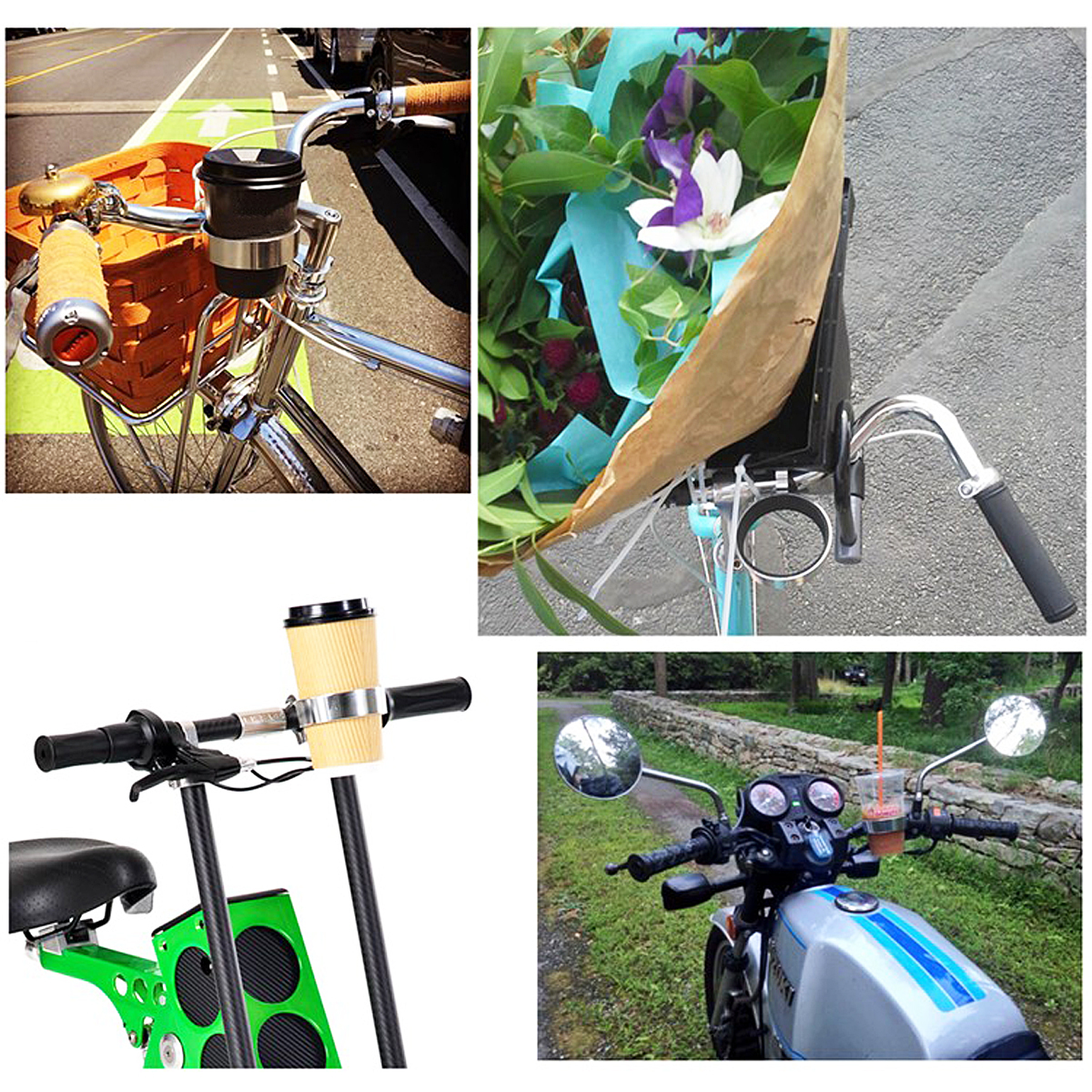 BIKIGHT Bottle Holder Bike Coffee Tea Car Cup for Cycling Bicycle Motorcycle Xia