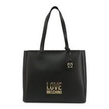 Womens Shoulder Bag - White / Black Tote - $163.78