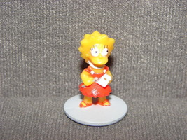 The Simpsons: Lisa Simpson Plastic Toy Figure - $5.00