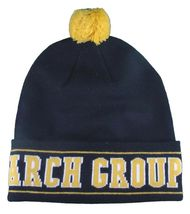 LRG Mens Black Yellow Core Collection Men's 47 Lifted Pom Beanie Winter Hat NWT image 3