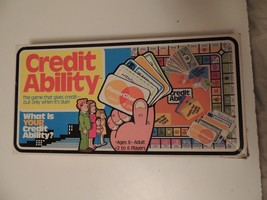 Vintage Credit Ability Board Game The Ungame Co. 1980 - Complete RARE VGUC - $18.23