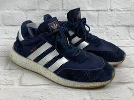 Adidas Iniki Runner Shoes Navy Blue Sneakers Mens Size 11 - $65.06