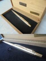 PARKER CLASSIC LADY MILLERAIES PENNA SFERA LAMINATA ORO + BOX Lam Gold B... - $39.22