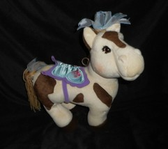 Cabbage Patch Kids 2005 Pony Horse Cream Spotted Butterfly Stuffed Animal Plush - $24.87
