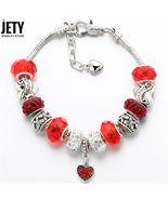 Men crystal heart beads bracelets bangles pulseras 1500x1500 stretch bjcs087red result thumbtall